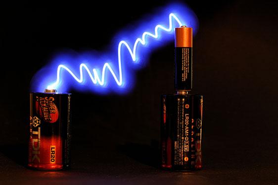 Strom via Batterie