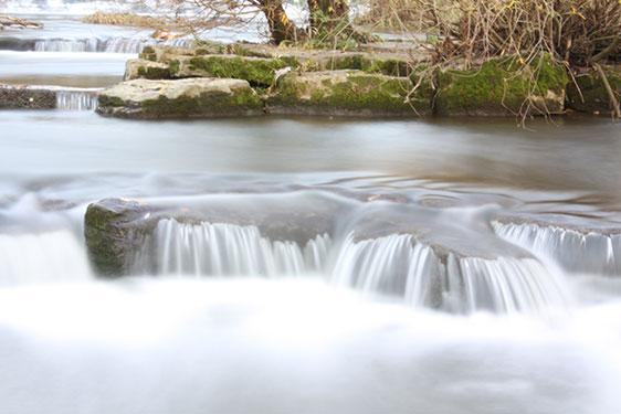 Sanfter Fluss