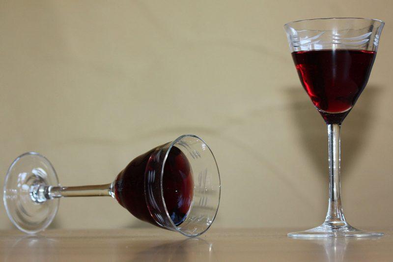 Leichter Wein Stillleben