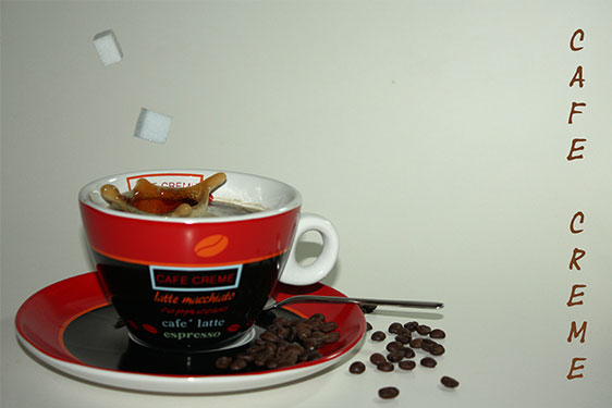 Highspeed Kaffee Splash