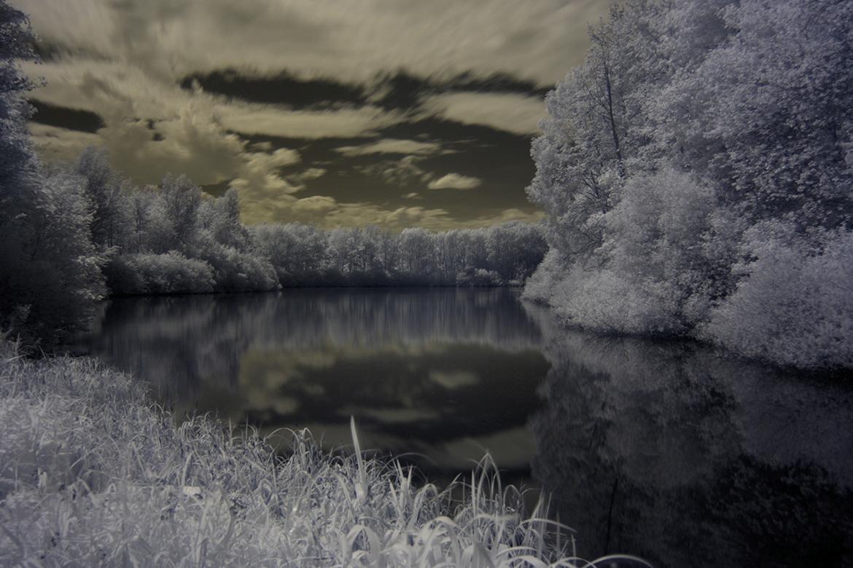 Märchensee - Infrarotaufnahme