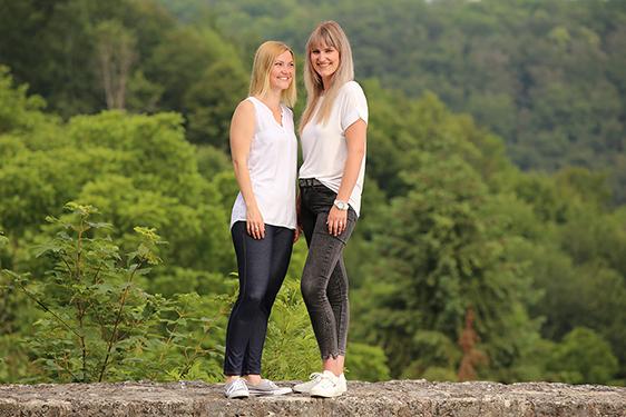 Sara und Bianca
