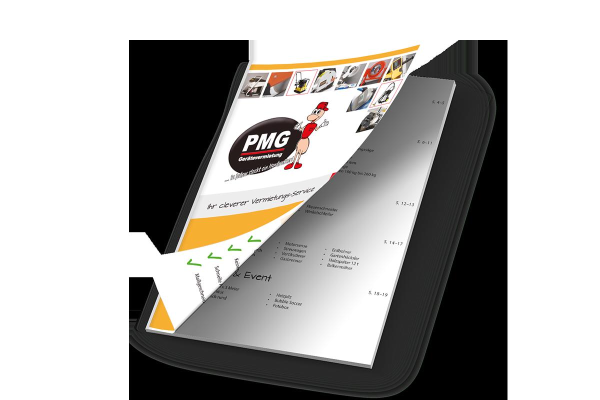 PMG Broschüre
